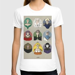 FUTURE SAILOR MOON QUEENS T-shirt