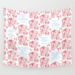 Wrap yourself in the promises of God Wall Tapestry