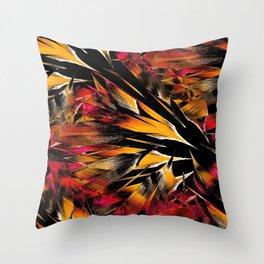 Jungle Trip (sunglow) Throw Pillow