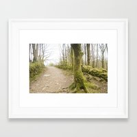 moss Framed Art Prints featuring Moss by TomP