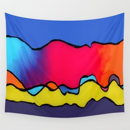 CALIFORNIA WAVE Wall Tapestry