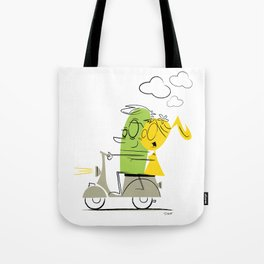 scooter ride! Tote Bag