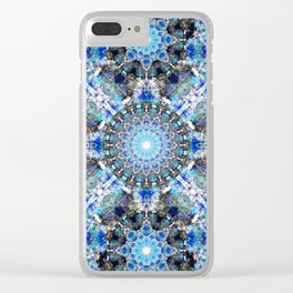 Spectral Essence Mandala Clear iPhone Case