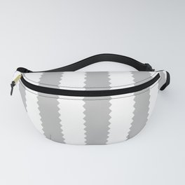 COOL GRAY STRIPES Fanny Pack