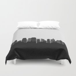 City Skylines: Minneapolis (Alternative) Duvet Cover