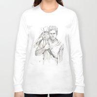 daryl Long Sleeve T-shirts featuring Daryl by Eric Dockery