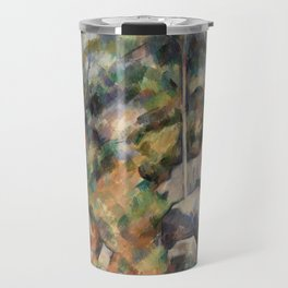 Rocks and Trees (Rochers et arbres) (ca.1904) by Paul Cézanne. Travel Mug