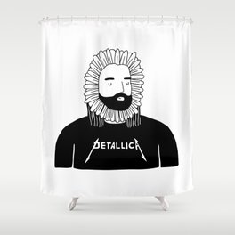 Devoted Petalhead Shower Curtain