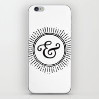 ampersand iPhone & iPod Skins featuring Ampersand by creative index