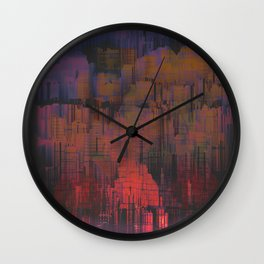 Urban Poetry in the Floating Town / 27-11-16 Wall Clock