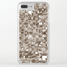 SADNESS Clear iPhone Case