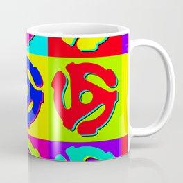 Pop Art Retro Vinyl Collector Coffee Mug