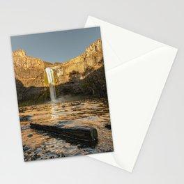 Losing Light - Washington Waterfall Nature Photography Stationery Cards