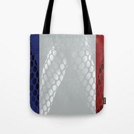 France flag Tote Bag