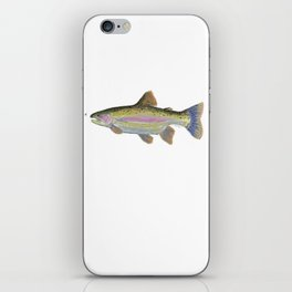 Rainbow Trout & Fly iPhone Skin