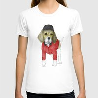 beagle T-shirts featuring Beagle by Barruf