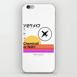 Chemtrail Cruel†y iPhone Skin
