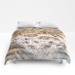 Chameleon - Macro Portrait Comforters