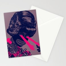 look into my beautiful eyes Stationery Cards
