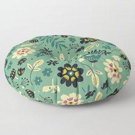 As flores do seu jardim Floor Pillow