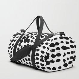 Flowing dots 02 Duffle Bag
