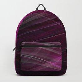 Linear Pattern-Purple Backpack