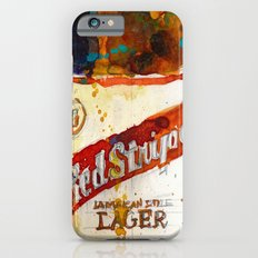 Red Stripe Jamaican Style Lager Beer Slim Case iPhone 6s