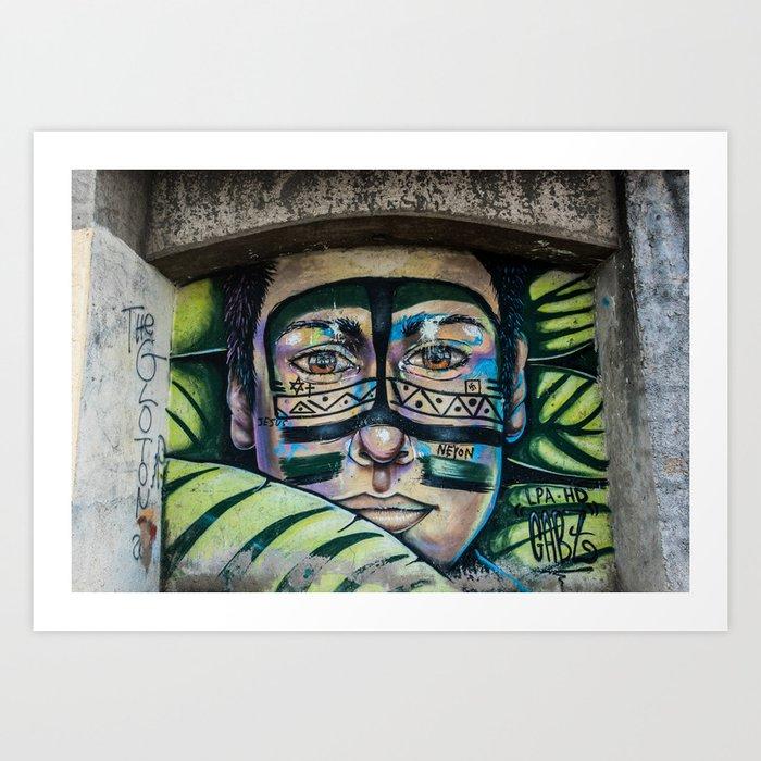 AFH 2018 Street Art 5 Art Print