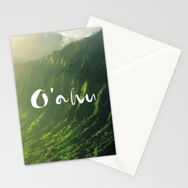O'ahu, Hawaii Stationery Cards