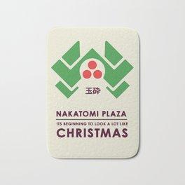 Nakitomi Plaza - Action movie Christmas Bath Mat