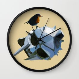 We are free Wall Clock