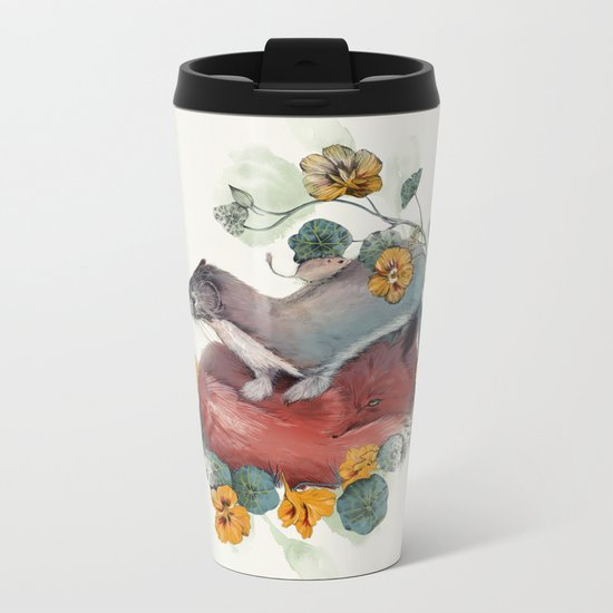 Stoat & Fox Metal Travel Mug