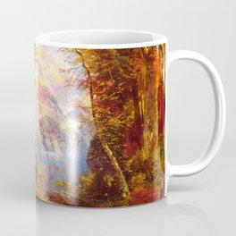 Under The Trees 1865 By Thomas Moran   Natural Wildlife Scenery Reproduction Coffee Mug