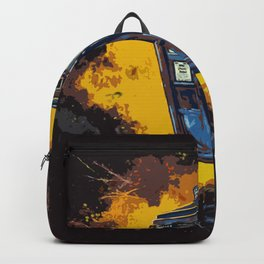 Tardis Explodes Backpack