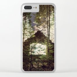 Light in the Forest Clear iPhone Case