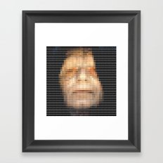 Emporer- StarWars - Pantone Swatch Art Framed Art Print