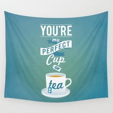 Perfect Cup of Tea Wall Tapestry
