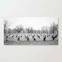 Numbers Without Names Canvas Print