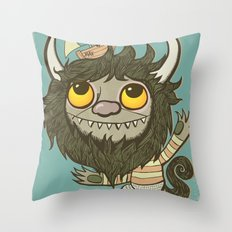 An Ode To Wild Things Throw Pillow