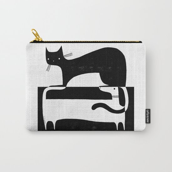 BLACK & WHITE 2 Carry-All Pouch