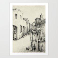 Village Elders of Lija Art Print