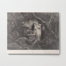 The Oracle,ca. 1837–70 Metal Print