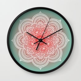 Mandala Lorana  Tender Wall Clock