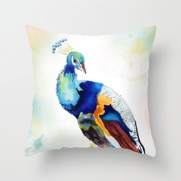 Bewitching feathers Throw Pillow