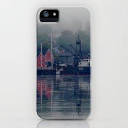 Morning in Lunenburg iPhone Case