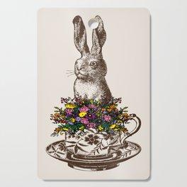 Rabbit in a Teacup Cutting Board
