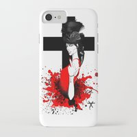 religion iPhone & iPod Cases featuring BAD RELIGION by Anna d'Ark
