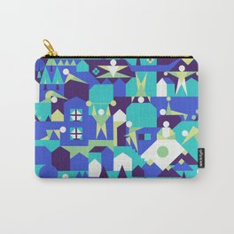 Indoors & outdoors (winter) Carry-All Pouch