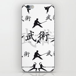 Martial Arts iPhone Skin