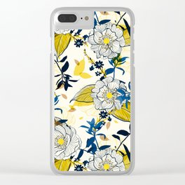 Flowers patten1 Clear iPhone Case